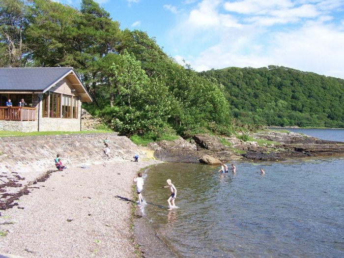 melfort pier harbour self catering holiday homes argyll scotland